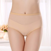 7403 Seamless Briefs Panties Sexy Transparent Women Underwear Free Sample of 2 pieces
