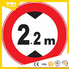 Print reflective traffic sign