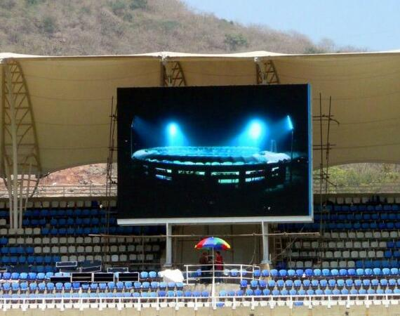 Durability led light flexible curtain P4 soft led videos outdoor led video walls