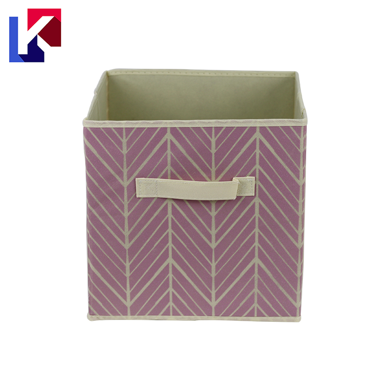 High quality fabric wardrobe storage boxes with lids