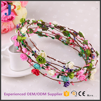 wholesale novelty flower decoration greenery paper christmas garland - Christmas Greenery Wholesale