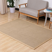 latex backing 100% natural sisal rug sisal fiber carpet