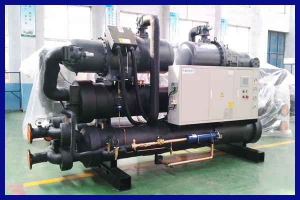 Installation Chiller Ac Central Air Conditioner Screw