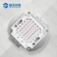 high power epileds cob 100w rgb led chips 45mil with Z1C type frame (Shenzhen manufacturer)