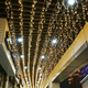 Outdoor Connectable christmas 300 Led icicle curtain light 8 function flashing wedding Christmas hotel hall decoration