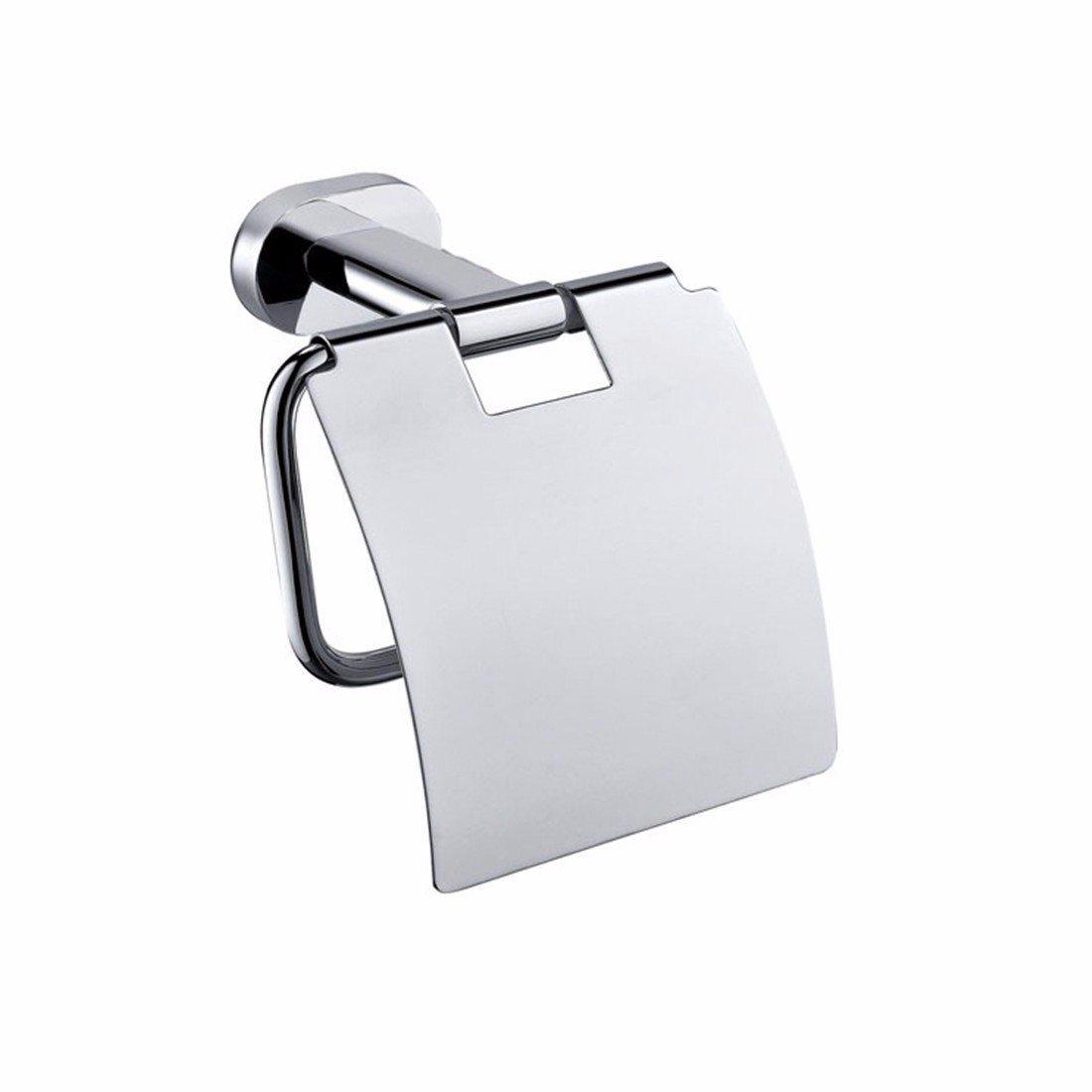 LAONA Contemporary chrome plated oval base copper stainless steel bathroom pendant, towel bar, toilet brush rack,Toilet paper holder