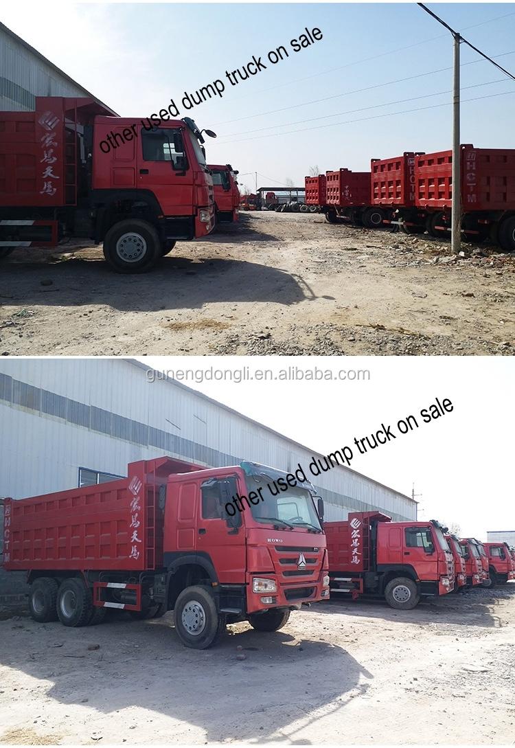 Bán hàng trực tiếp giá thấp sử dụng 371 375 hp 10 bánh xe tải sinotruk howo xe tải để bán