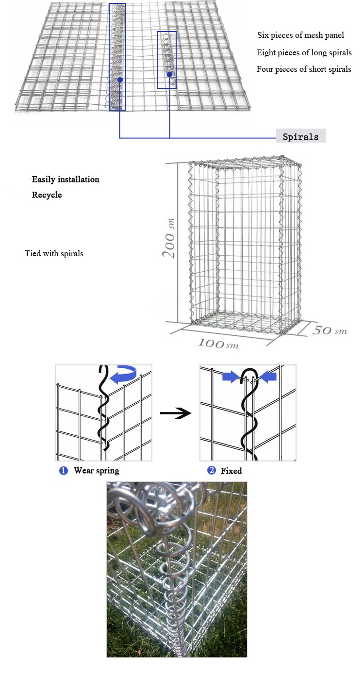 welded gabion basket gabion wire mesh used retaining wall blocks welded gabion basket gabion wire mesh used retaining wall blocks