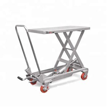 Table Elevatrice Hydraulique Mecanique De Ciseaux De Levage D