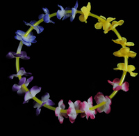 Wholesale Glow Necklace In The Dark Stick Flower Necklace For Party