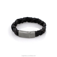 Classical Designs Fashion Luxury Leather Men's Magnetic Bracelet 2016 Wholesale Jewelry