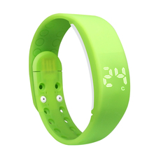 W2P 3d pedometer calorie counter fitness tracker silicone wristband watch