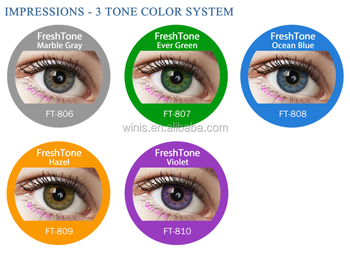 Wholesale Freshtone Impressions 3 Tone Very Cheap Cosmetic Colored ...