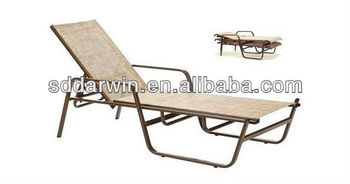 Outdoor rattan bali chaise lounge furntiure dw su0682 for Balinese chaise lounge