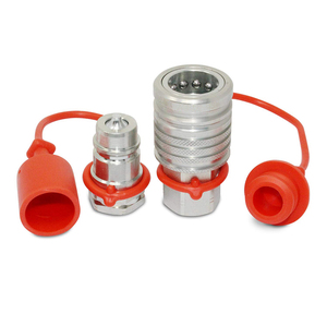 1/2 inch agriculture Hydraulic Quick Connect Push-Pull Coupler Set for tractor Hydraulic Multiplier and hose connect
