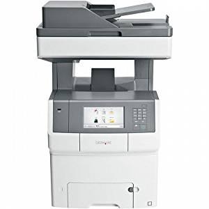Lexmark X748DE Laser Multifunction Printer - Color - Plain Paper Print - Desktop - Printer, Copier, Scanner, Fax - 35 ppm Mono/35 ppm Color Print - 2400 x 600 dpi Print - 35 cpm Mono/35 cpm Color Copy - Touchscreen - 600 dpi Optical Scan - Automatic Duplex Print - 650 sheets Input - Gigabit