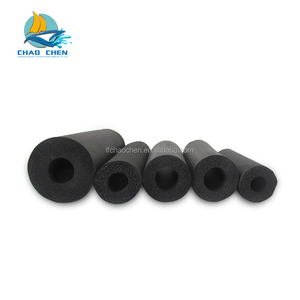 Black PVC/NBR rubber plastic insulation foam tube/pipe