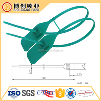 2016 hot sale product Adjustable length security plastic BAR CODE seals tag