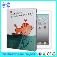 High Quality Cute Leather Flip Cover Universal Tablet Case For iPad Mini 2 ,For iPad 6 Tablet Cover