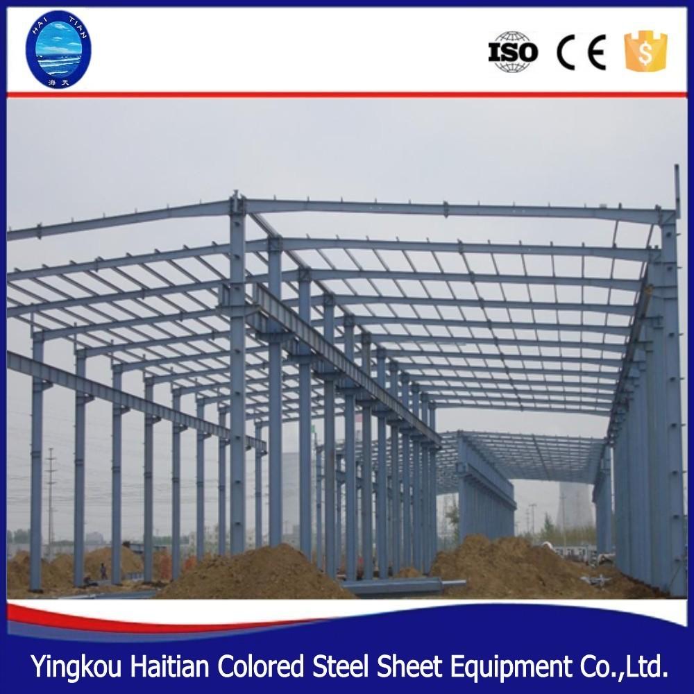Peb Steel Support Structure Q235 Galvanized Z Purlin