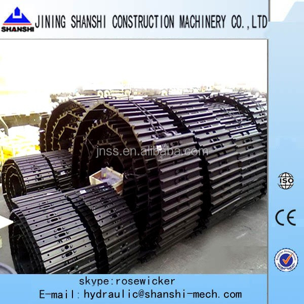 R220LC-9 track link,excavator undercarriage track shoe Hyundai R220LC-7,R225LC,R215LC,R250LC track chain