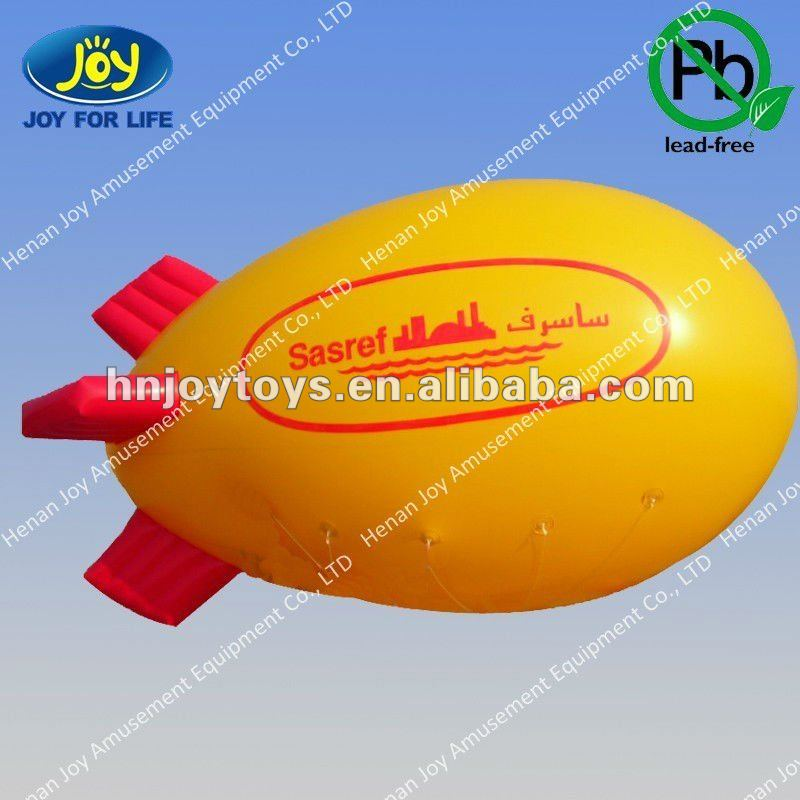 flying inflatable advertising balloon