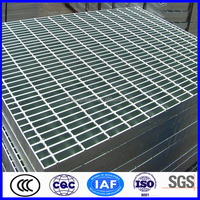 Hot dipped galvanized flowforge grating