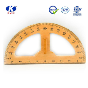 2016 price wooden round ruler for math