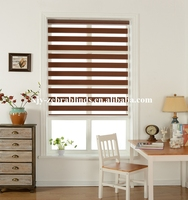 Cheap price good quality zebra blinds for window decor from leader company