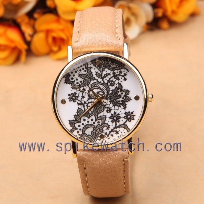 Shenzhen factory direct 1-3 atm water resistant quartz lady watch