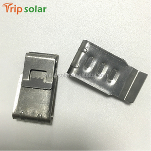 Wholesaler small electrical insulation cable clamps for solar panel