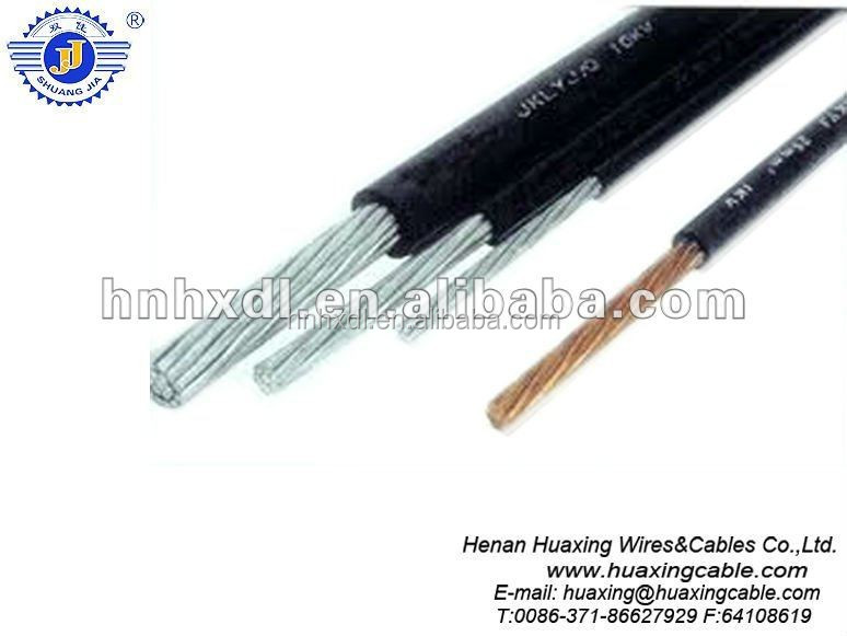 10KV steel core aluminum XLPE insulated aerial cable