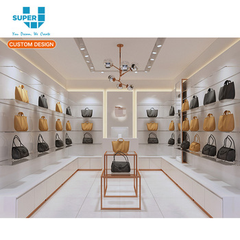 Free Fashion Handbag Showroom Design Whole Bag Furniture For Display
