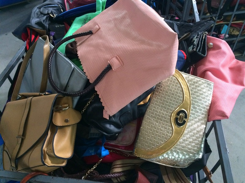 Used Fashion Lady Purse School Bags On Second Hand Quality In China