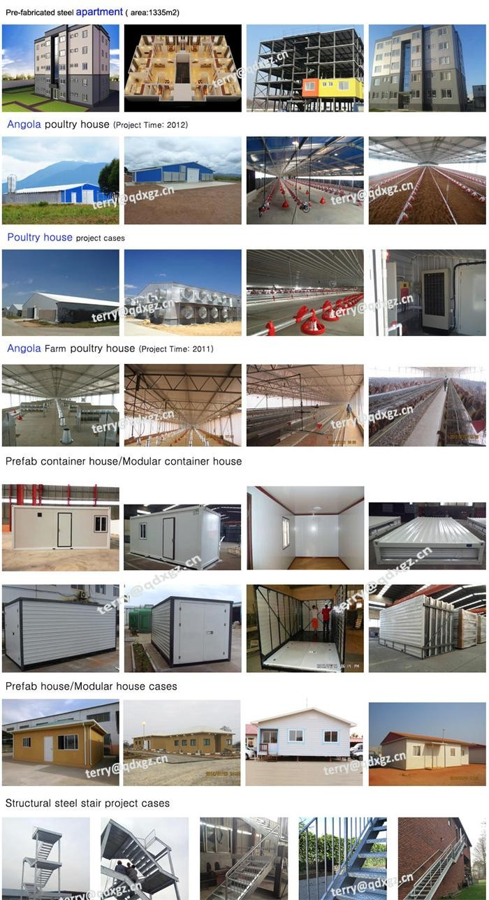 Qingdao structural steel prefabricated warehouse building