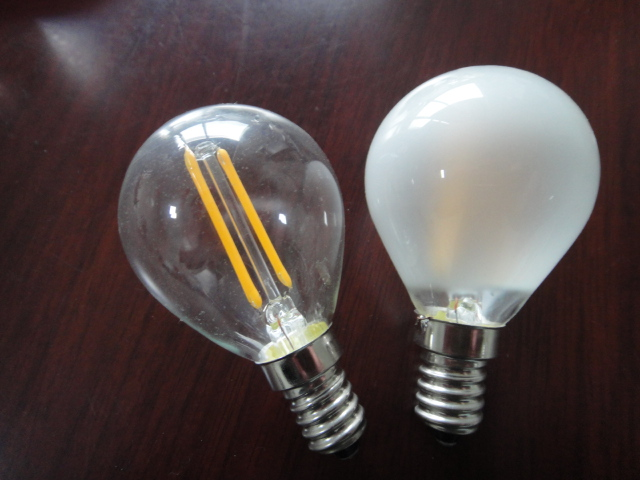G45 Clear E14/e27 2w/4w Clear/frosted Led Filament Bulb/led Bulb - Buy Led  Filament Bulb,Led Bulb,G45 Led Filament Bulb Product on Alibaba com