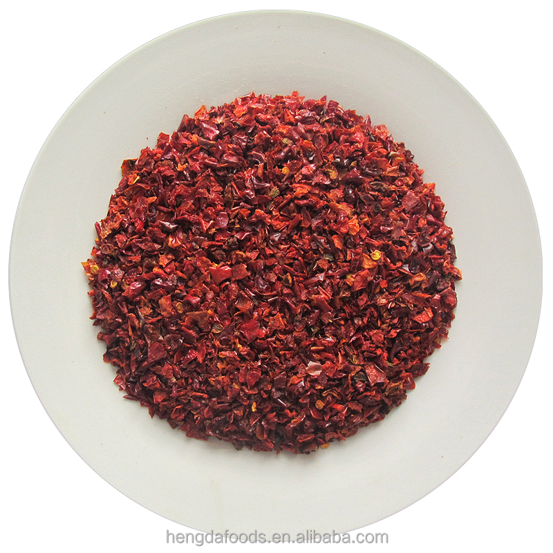 100% Natural AD Red Dried Sweet Pepper 3*3 6*6 9*9