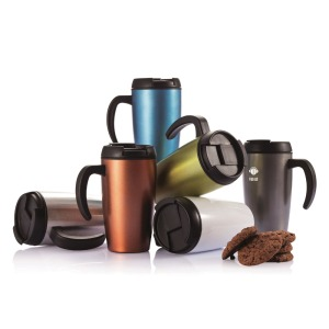 Colorful promotional Mug aluminum travel tumbler