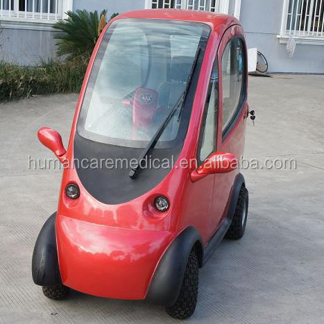 4 rad elektromobil berdachte elektrische mobilit t roller. Black Bedroom Furniture Sets. Home Design Ideas
