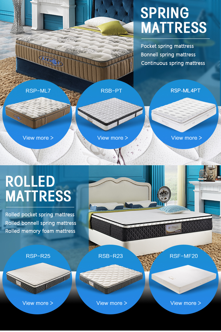 fashionable new style queen fabric knitted 3d mesh mattress 5 star hotel memory foam mattress