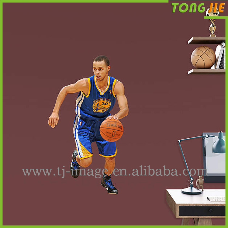 Stephen Curry pvc easy remove wall stickers