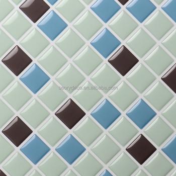Leading Kitchen Backsplash Design Clever Soft Vinyl Waterproof Wallpaper