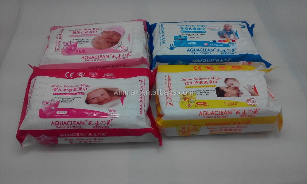 wholesale baby wipes 80pieces nonwoven spunlace for different ages care 4 baby