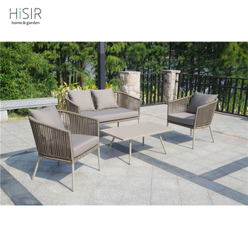 New Arrival Rope Weave Sofa Chair Set Furniture Garden Buy Furniture Garden Rope Chair Rope Weave Furniture Product On Alibaba Com