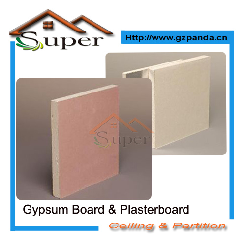 Papered Surface Gypsum Drywall