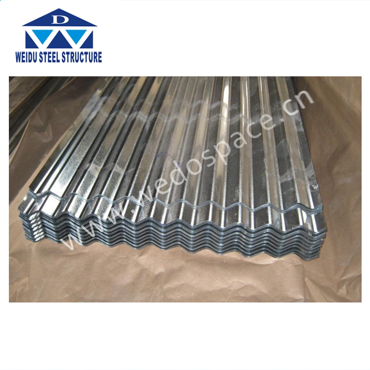 rib-type corrugated galvanized steel sheet for color roof