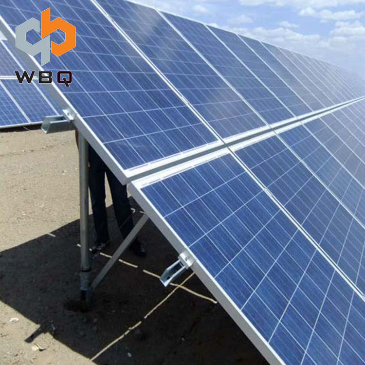 Aluminum Solar Ground Mounting Bracket Solar Pv System