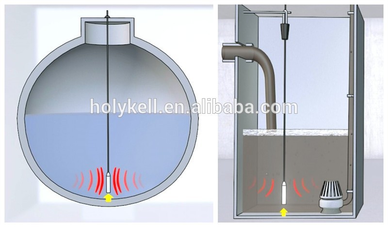 Holykell 0-200m Well Water Level Sensor For Deep Wells