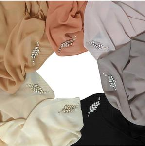 New stylish top quality girl scarf malaysia arab hijab fashion for sale