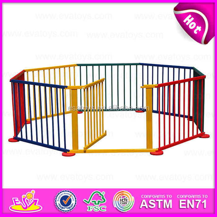 wholesale cheap baby wooden square playpen popular kids wooden square playpen w08h007